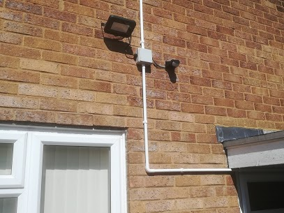 security light and camera
