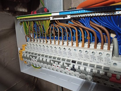 new consumer units, fuse boxes, extra sockets and domestic electrical services.