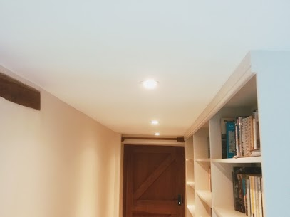 warm white led installed into this hallway.