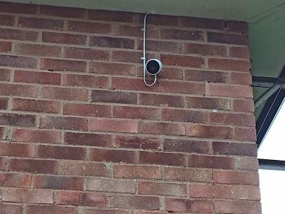 2 NEST Securtiy Cameras installed.